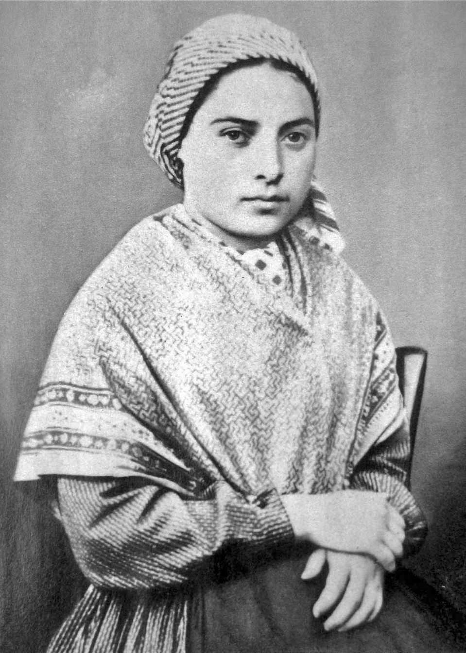 St. Bernadette, Pray for Us!